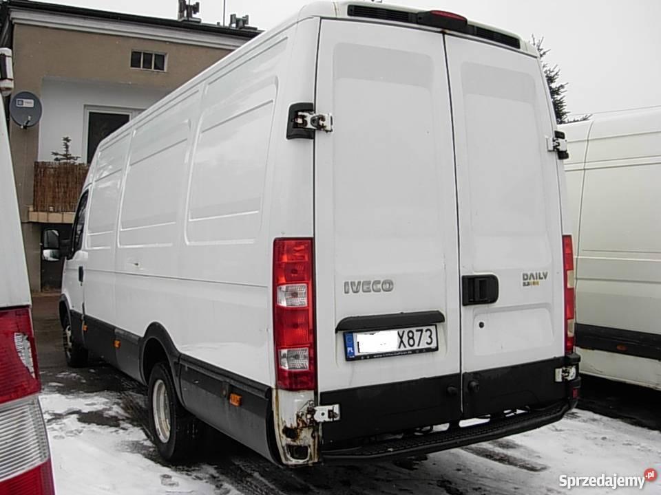 IVECO DAILY 35C12 MAXI BLIZNIAK 2007 zarejestrowany w Polsce Częstochowa
