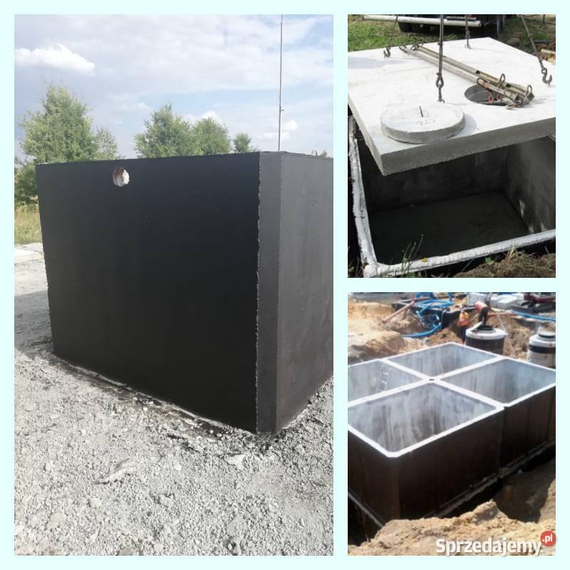 szambo betonowe 10m3 SZCZELNE