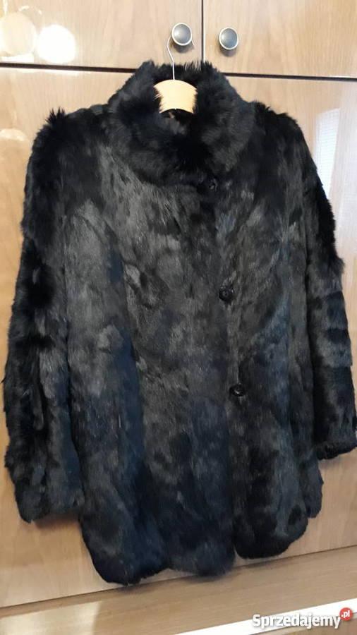 Płaszcz zimowy stella r. 48 czarny wełna nowy adrianno dami