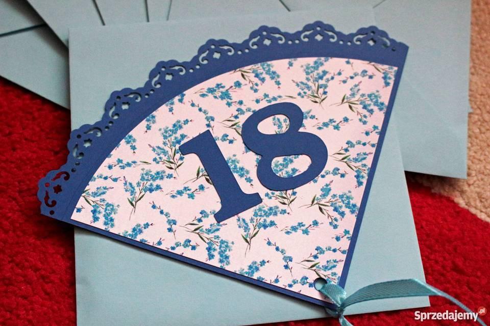 Zaproszenia Na 18 Urodziny Dla Dziewczyn Lubin Sprzedajemypl