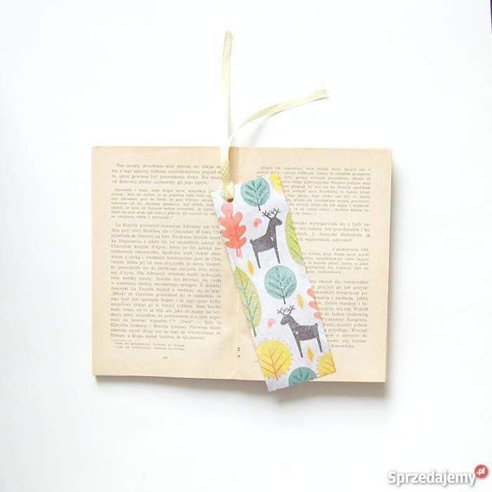 ładna zakładka do książki z jelonkamikolorowa Katowice