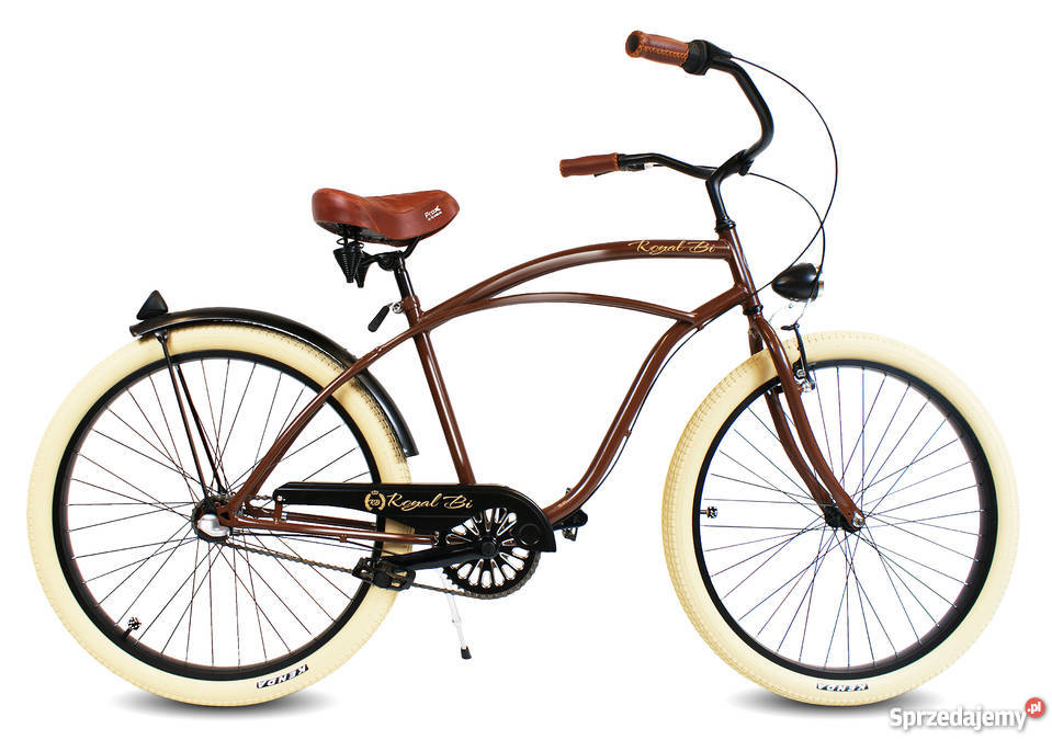 Rowery rower Cruiser RoyalBi NOWE 26 electra Miejskie Toruń