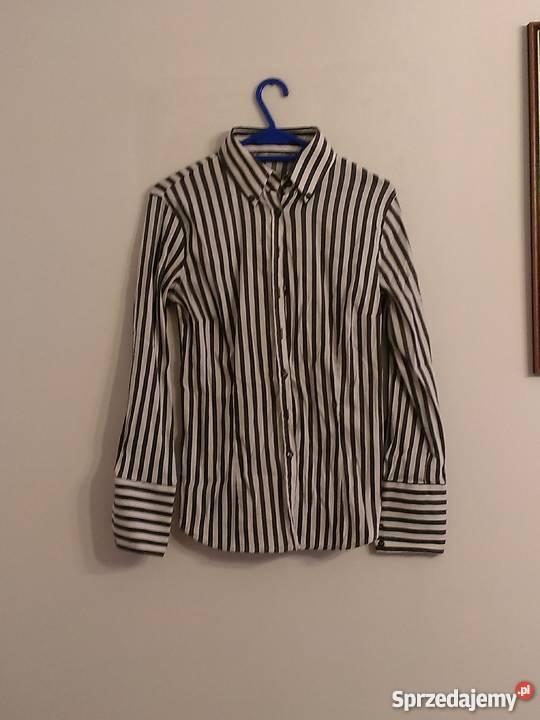 Koszula w paski blogerska Zara