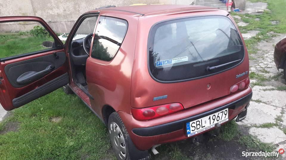Fiat Seicento 900 benzynagaz hak 36KM Prudnik