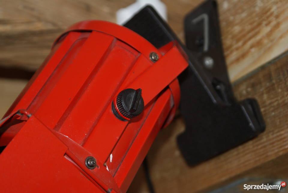 Lampka reflektor na klips czerwona