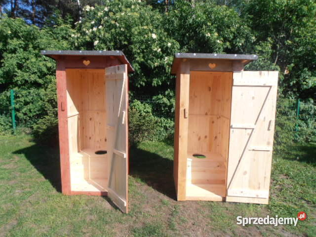 Wc Toaleta Szalet Wychodek Kibel Drewniany Swoja Meble ogrodowe Ogród Drużbice
