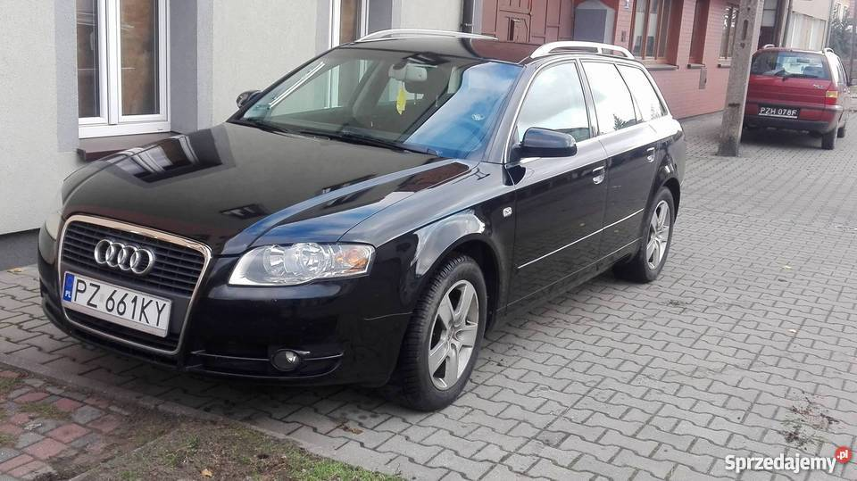 audi a4 b7 2 0 tdi 140 km 6 bieg w swarz dz. Black Bedroom Furniture Sets. Home Design Ideas