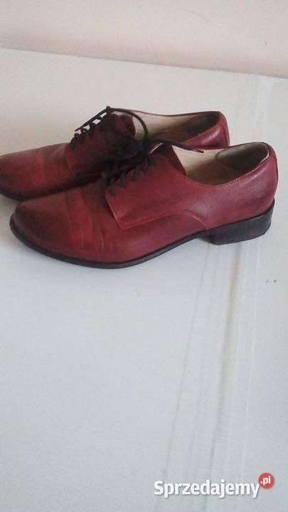 bordowe buty Sprzedajemy.pl