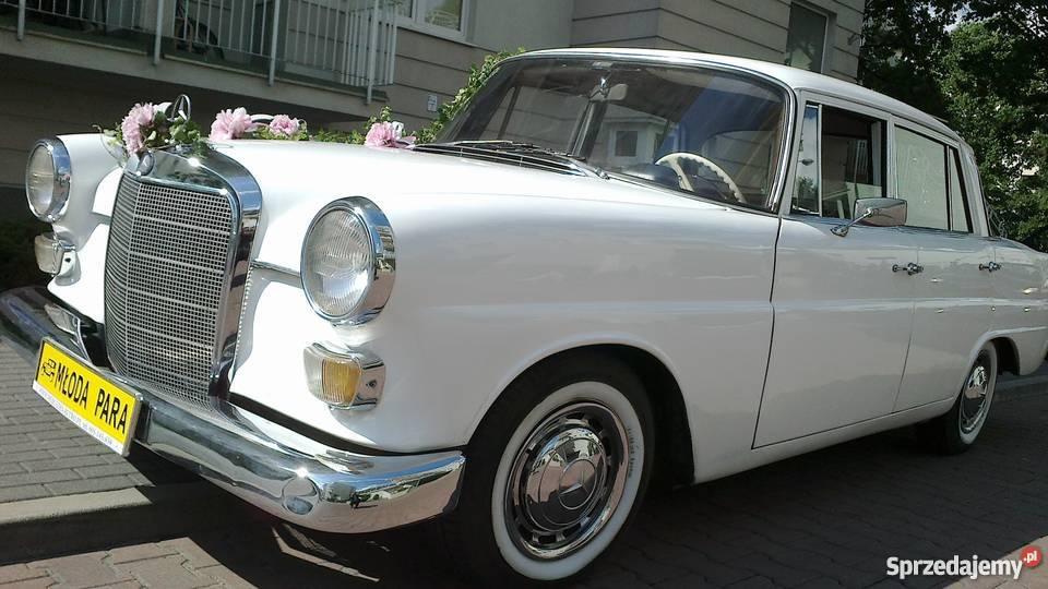 Zabytkowe Mercedesy do ślubuwynajem Warszawa mazowieckie