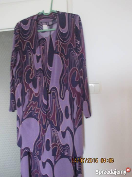 4e0f93480a1fb Elegancki komplet (jak nowe) - sukienka plus długi żakiet ni ...