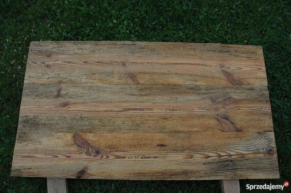 Zrobię blat ze starego drewna 4cm