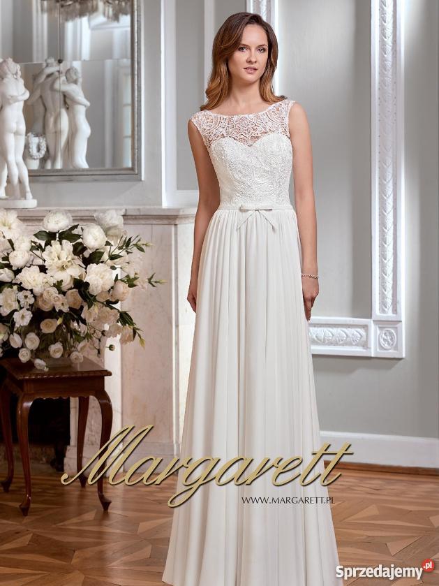 8474ae1d7c30 Przepiękna sukienka Margarett Malve 2018 welon Rozmiar 38(M) mazowieckie  Warszawa sprzedam