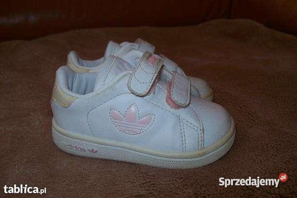 Śliczne buty adidas dla dziewczynki rozmiar 19