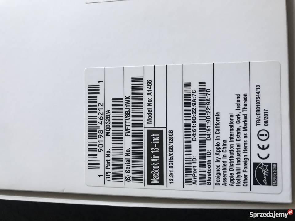 Apple MacBook Air 133 Łódź