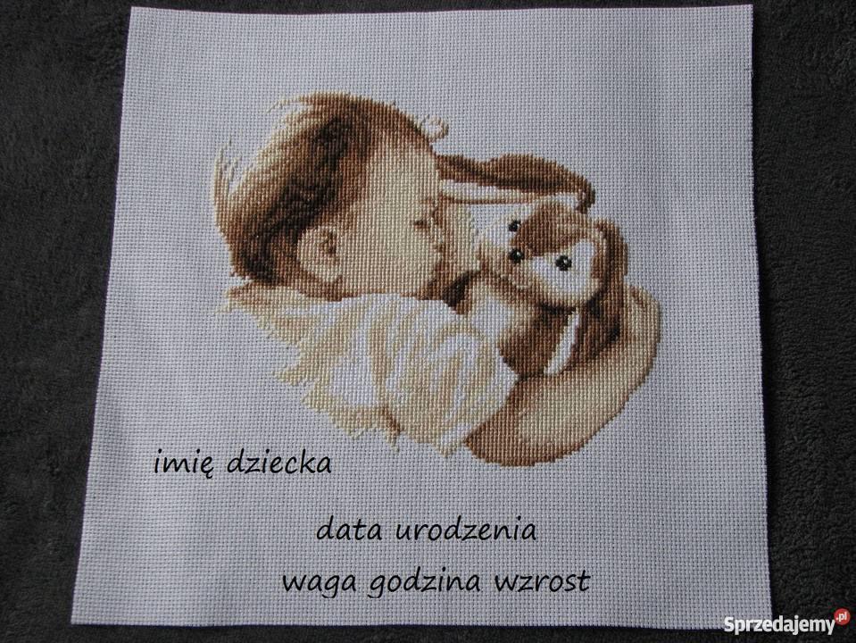 metryczka MALUSZEK haft krzyzykowy Czerwionka-Leszczyny sprzedam
