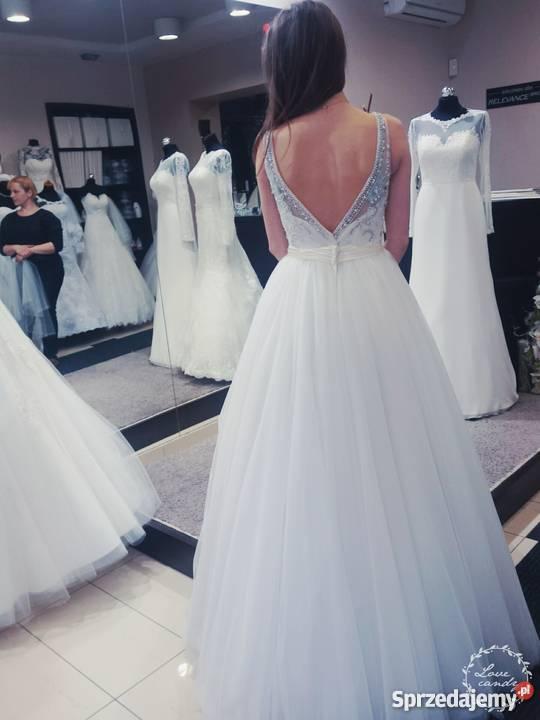 Przepiękna Suknia ślubna Lubartów Sprzedajemypl