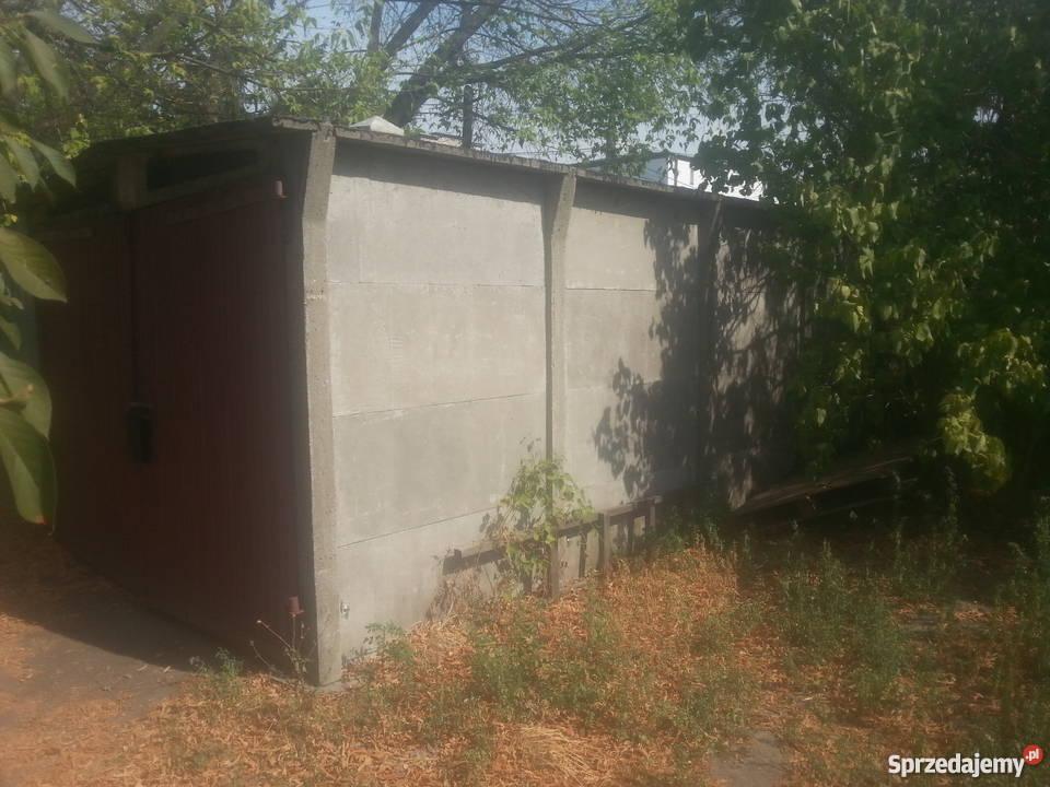 Sprzedam Garaż Z Płyt Betonowych Do Przeniesienia Warszawa