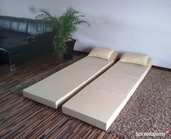 Materac składany rozkładany fotel sofa łóżko Dom i Ogród Pecna sprzedam