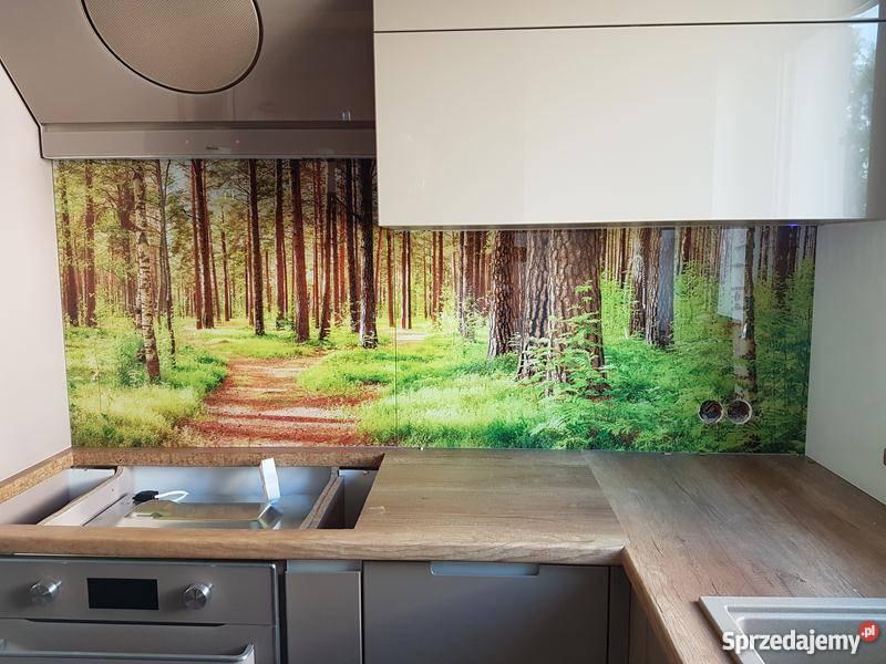 Panele Szklane Do Kuchni Fotoszyby Zabudowy Hartowane