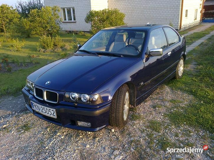 BMW E36 18 IS benzyna