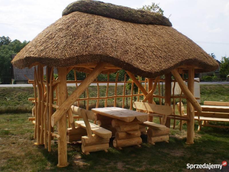 Pokrycie Trzcinowe Dach Z Trzciny Altana Ogrodowa Strzecha