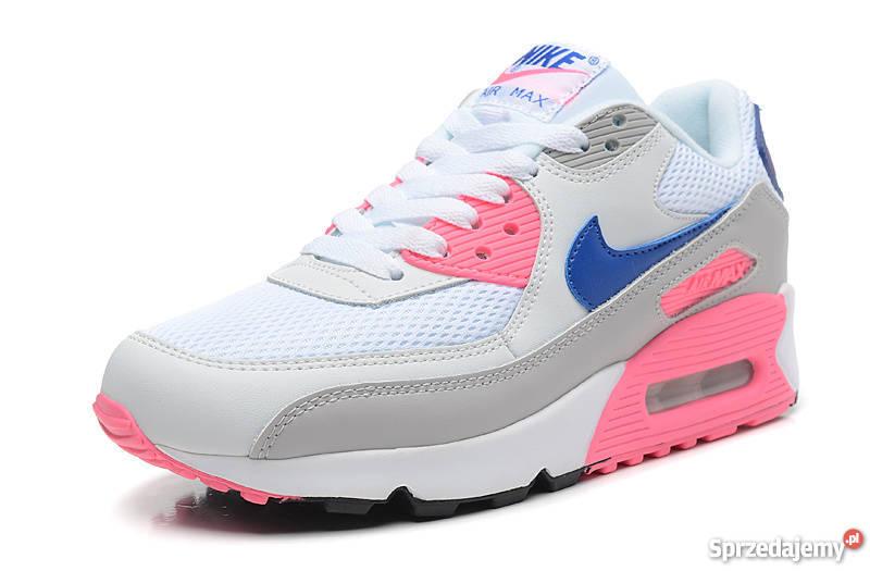 Kolorowe Nike Air Max niebieskie różowe żółte rozmiar 39