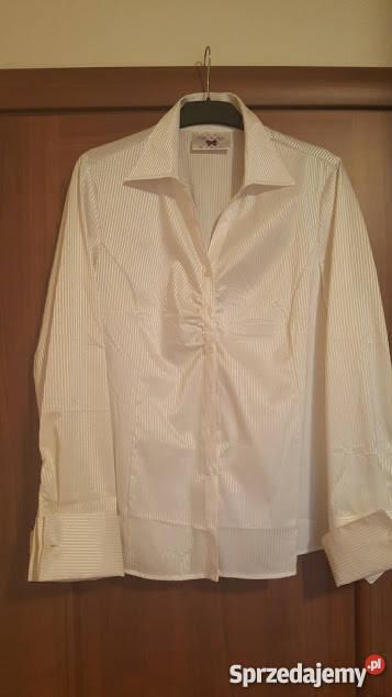 0976e9f518 Wizytowa biała koszula kupiona w Tchibo Odzież damska Poznań