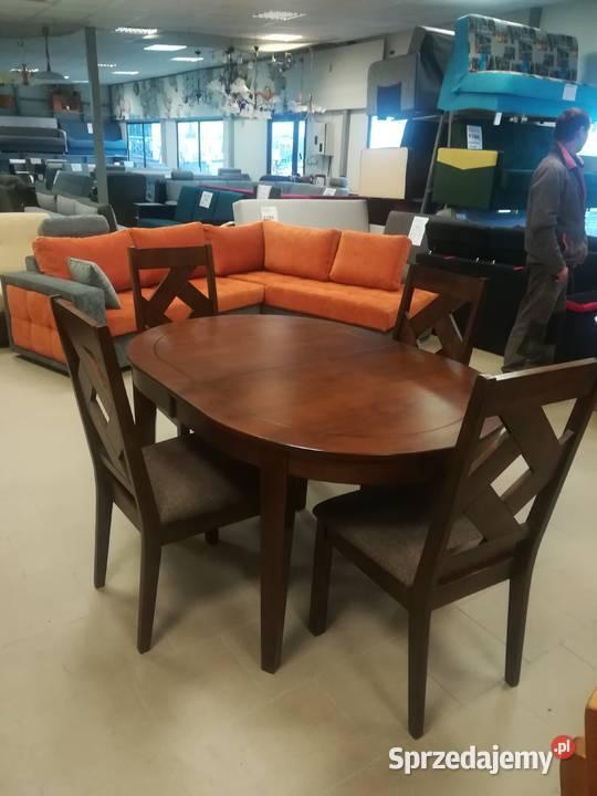 Zestaw Stół + 4 krzesła. Promocja