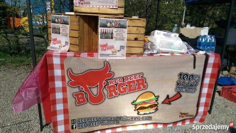 W Ultra Sprzedam biznes - stoisko street food RED BEEF BURGER Kraków YP35