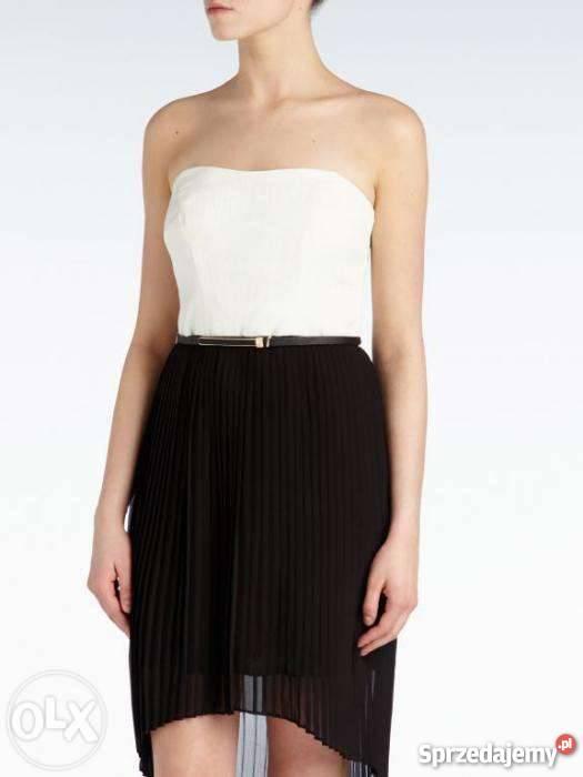 22bed874d2 Śliczna sukienka RESERVED plisy asymetryczna 42 Łódź sprzedam