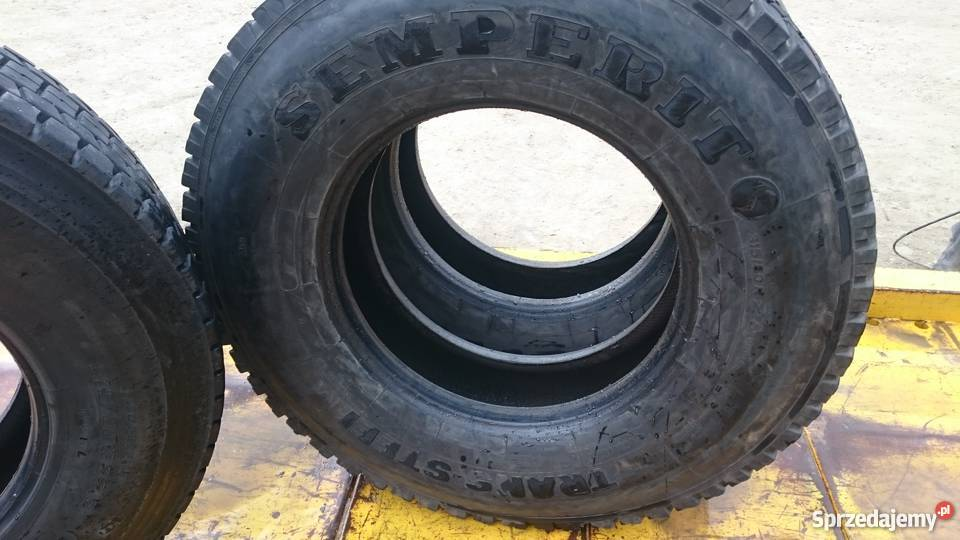 Opona ciężarowa SEMPERITO 31580R225 używana małopolskie Stryszawa