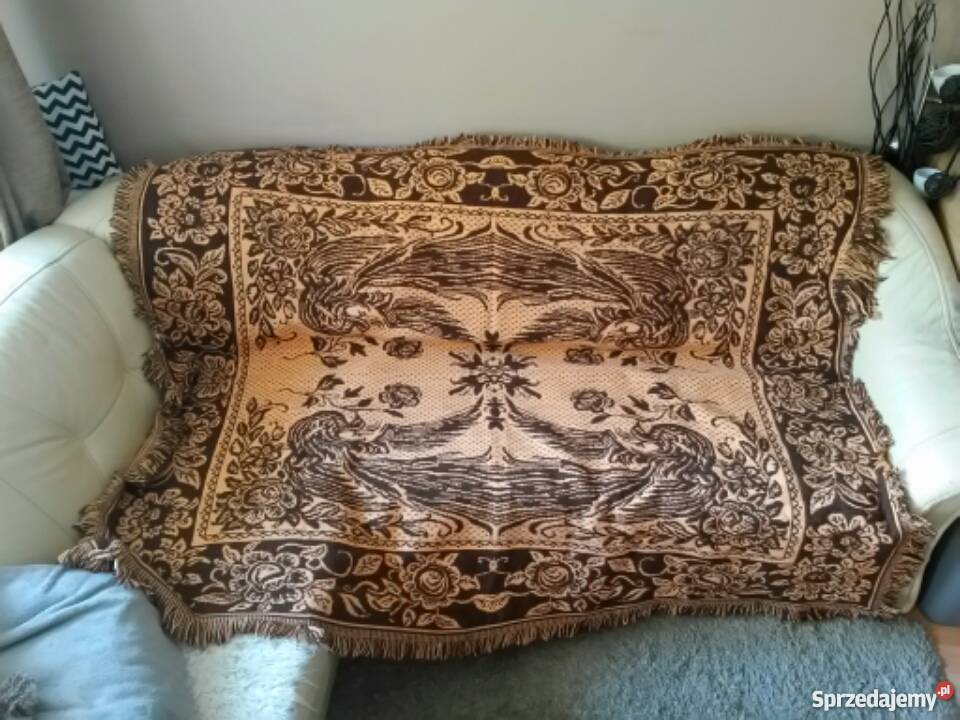 Retro Kapa Narzuta Koc Na łóżko Kanapę Sofę Vintage Prl