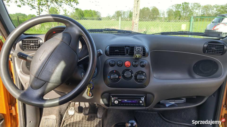 Fiat Seicento Young 2000r pojemność 900 180400km zachodniopomorskie