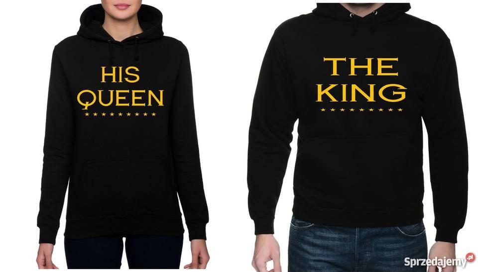 c5da9e451 Bluzy dla PAR, Prezent na WALENTYNKI !King & Queen! Kielno ...