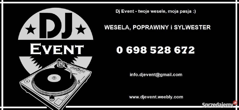 WESELA DJA EVENT twoje wesele moja pasja Warszawa