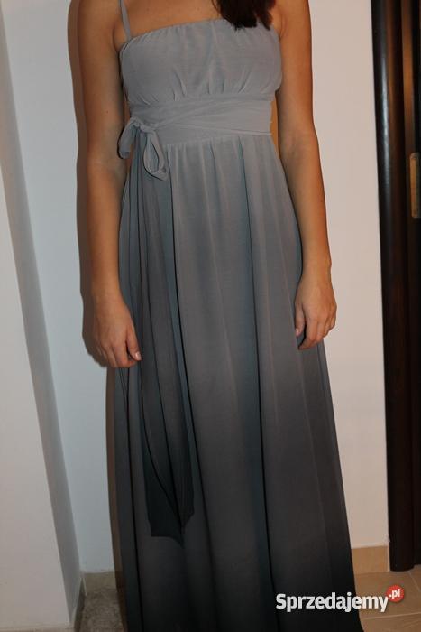Sukienka plisowana maxi długa ombre ORSAY 38 M