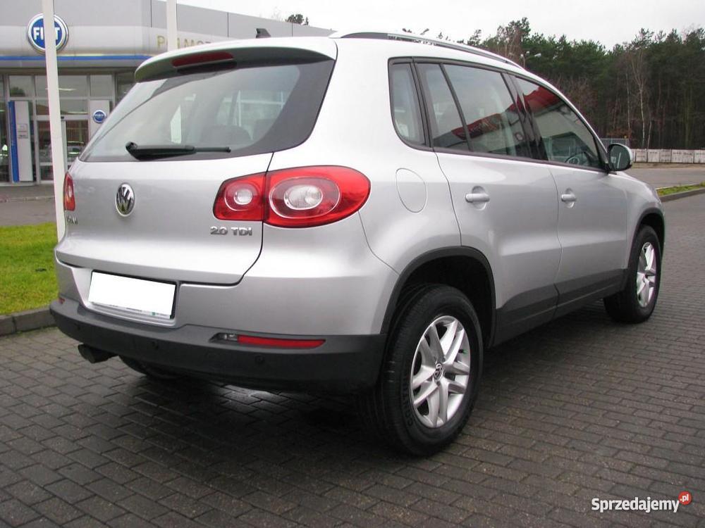 Do Volkswagen Tiguan 2009 manualna Tiguan Włocławek