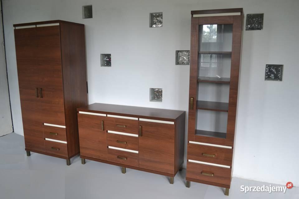Meble salonowe pokojowe komoda szafa witrynka