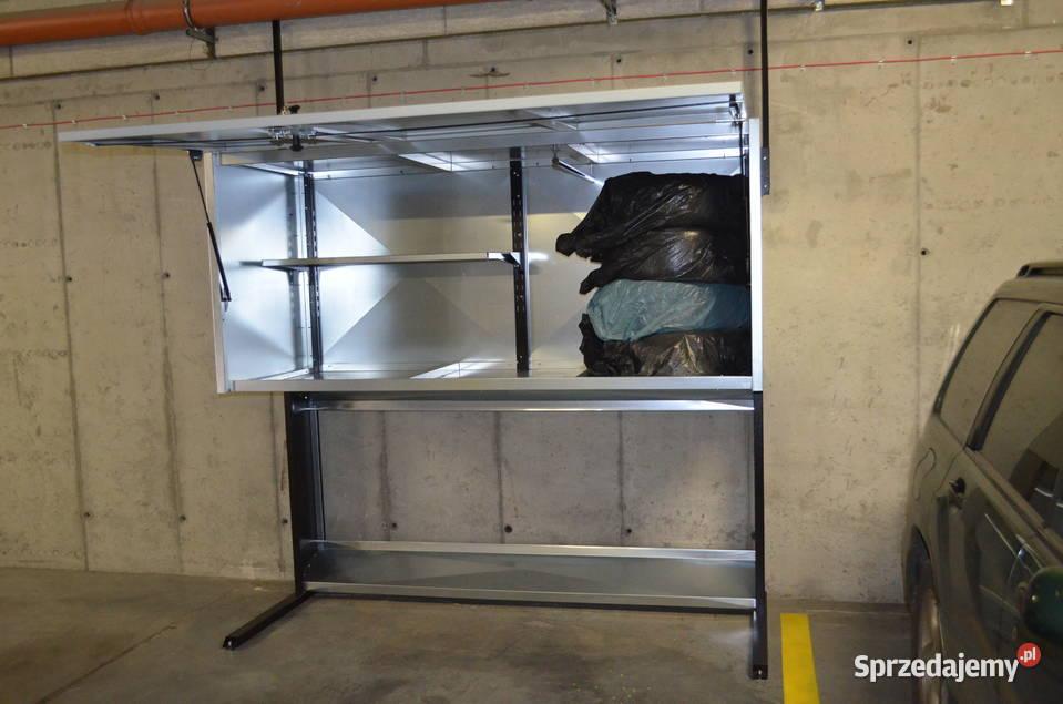 Szafa garażowa poj. 1800l szafy garażowe metalowe box boxy