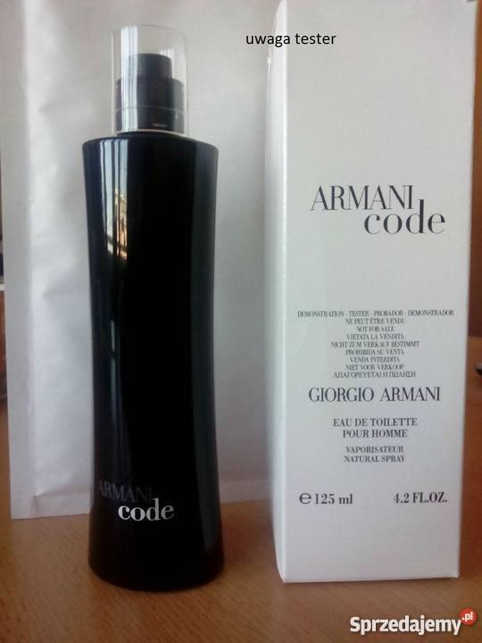 new arrivals shades of great deals 2017 GIORGIO Armani Code For MEN 125 ml tester