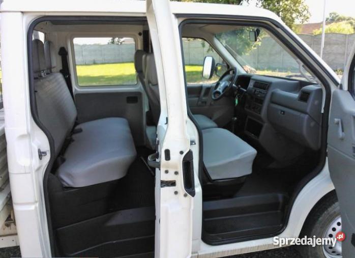 Volkswagen T4 Doka skrzyniowy 6 os 25 TDI manualna Nakło