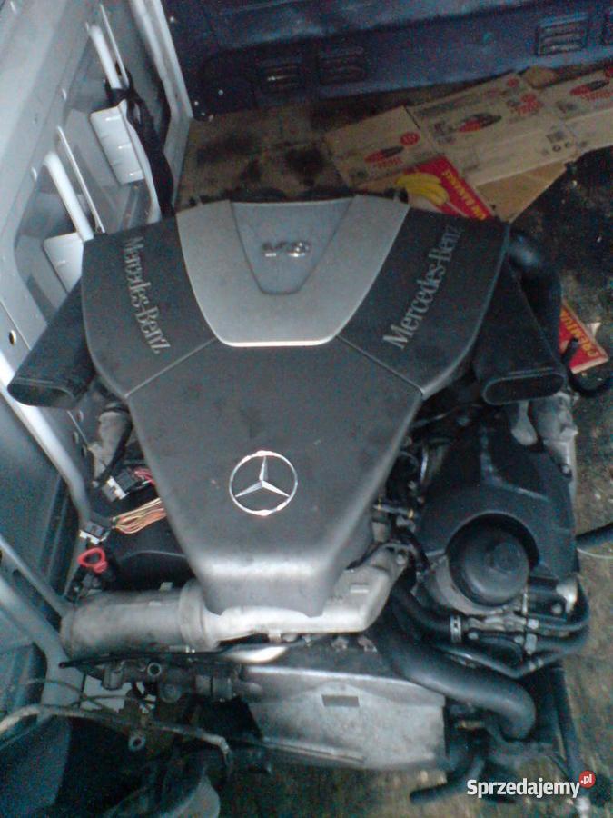 SILNIK MERCEDES SPRINTER 29 TD 0048 607605475 Samochody dostawcze Włocławek sprzedam
