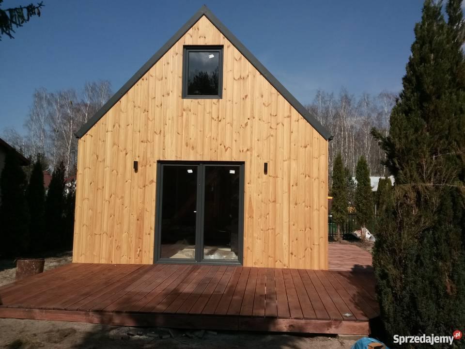Modne ubrania Domek z drewna Stodółka 35m z poddaszem dom szkieletowy Otwock HP13