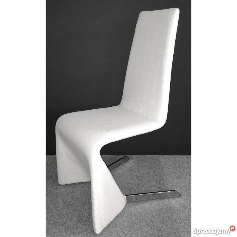 Zupełnie nowe Krzesło nowoczesne, czarne, białe, Promocyjna cena! Kraków LH19