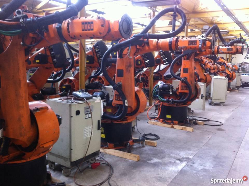 Fantastyczny Robot spawalniczy KUKA KR 200/2- KRC1- VIDEO. Dzierżoniów GX36