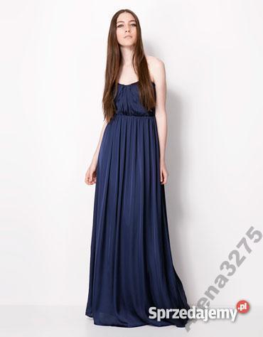 6abdf845 Sukienka bez ramiączek Bershka