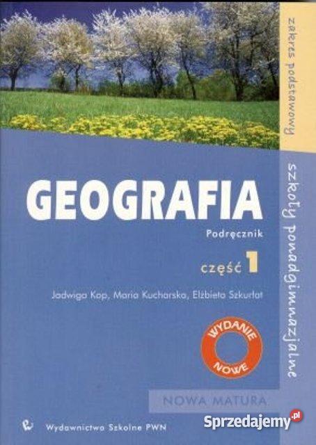 GEOGRAFIA liceum LO zestaw MATURA