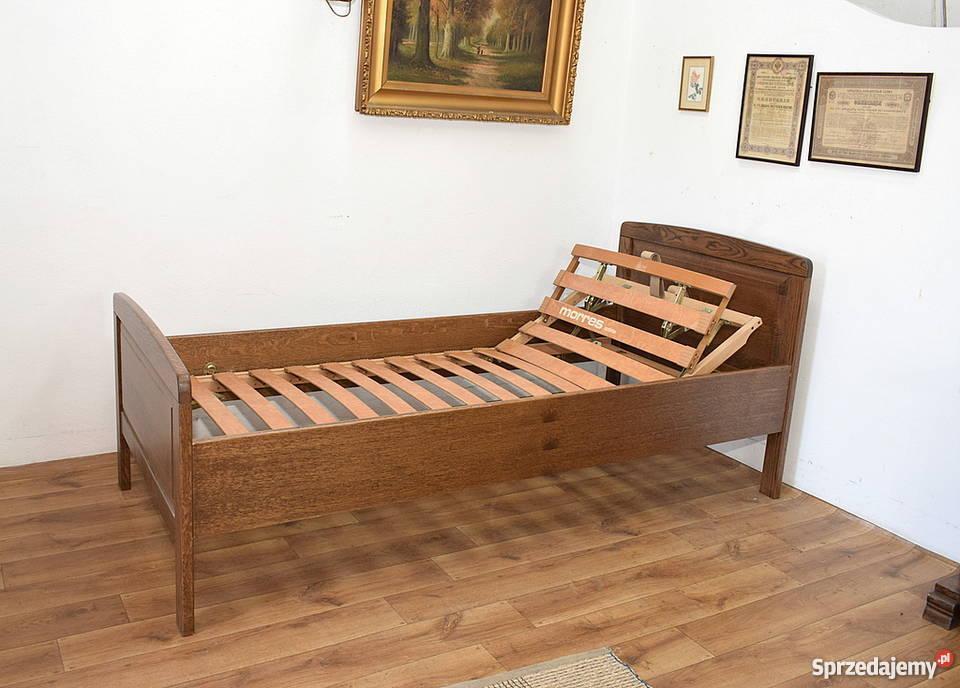 ładne Solidne Dębowe łóżko Regulowany Stelaż Wysyłam