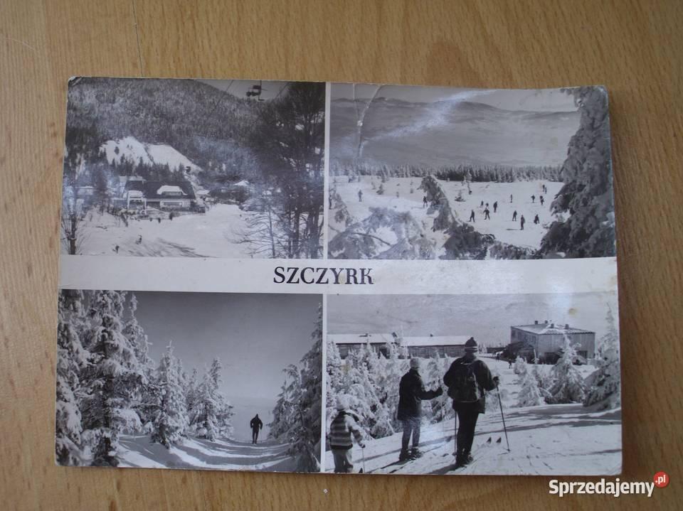 widokówka; pocztówka; SZCZYRK; 1974