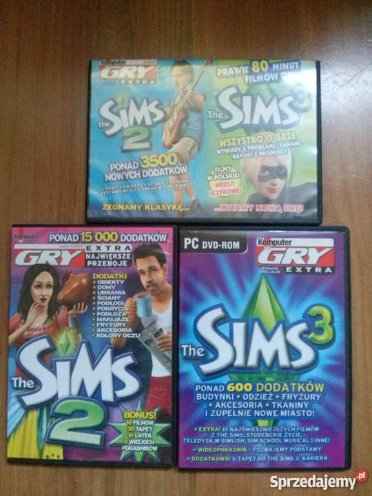 Pakiet Gier The Sims 2